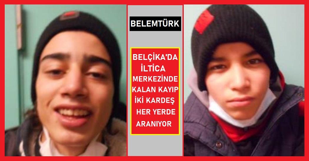 Belçika'da  iltica merkezinde kalan  10 ve 12 yaşlarındaki iki  kardeş kayboldu.