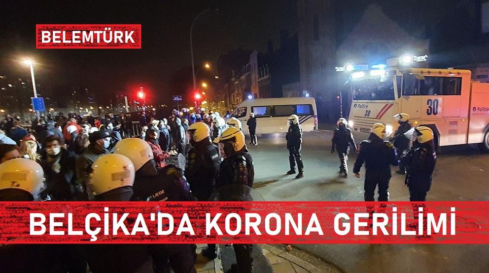 BELÇİKA'DA KORONA GERİLİMİ!