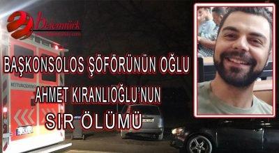 Türk Başkonsolosluğu çalışanının 25 yaşındaki oğlu ölü bulundu.