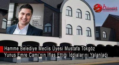 Belçika'da Hamme Yunus Emre Cami'nin iflas ettiği iddiları yalanlandı