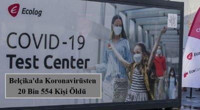 Belçika'da koronavirüs pandemisine ilişkin en son rakamlar yayınlandı.