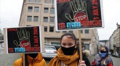 Belçika parlamentosunda Çin'in Uygurlara yönelik uygulamalarının 'soykırım' olarak tanınması istendi