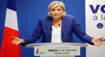 """Aşırı sağcı Fransansız lider  Le Pen'den küstah sözler: """"İslam Yok Edilmeli"""""""