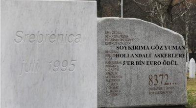 Hollanda Srebrenitsa  soykırımına göz yuman askerlerini ödüllendirdi
