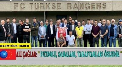 """Ali Çağlar : """"Futbolu, Sahaları, Taraftarları Özledik"""""""