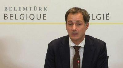 """Belçika Başbakanı De Croo, """"Özgürlüğümüzü hep birlikte geri alacağız"""""""
