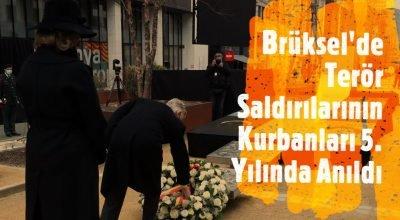 Brüksel'de terör saldırılarının kurbanları 5. yılında  anıldı