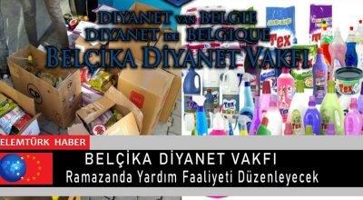 Belçika Diyanet Vakfı, ramazan ayı boyunca ihtiyaç sahiplerine yardım dağıtacak