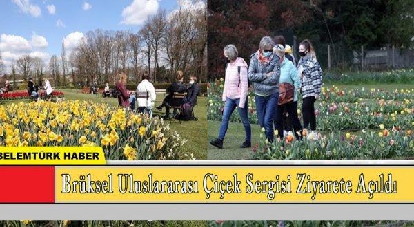 Belçika'nın başkenti Brüksel'de uluslararası çiçek sergisi ziyarete açıldı
