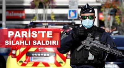 Paris'te silahlı saldırı: 1 ölü, 1 yaralı