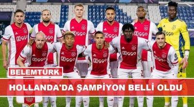 Hollanda'da  şampiyon belli oldu