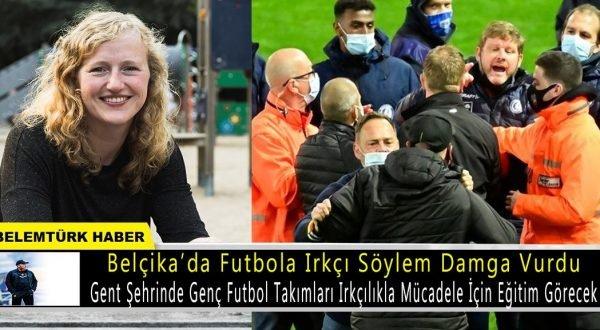 Belçika'da genç futbol takımları ırkçılıkla mücadele için eğitim görecek.