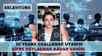 20 Years Challenge uyarısı: Şifre paylaşmak kadar vahim!