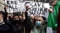 Belçika'da İsrail'in Filistin halkına yönelik saldırıları protesto edildi