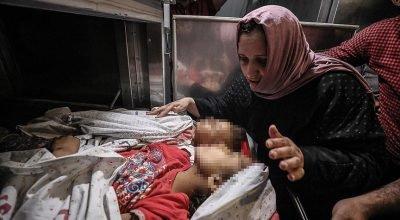 İsrail'in Gazze'ye saldırısında 9'u çocuk 20 kişi şehit oldu