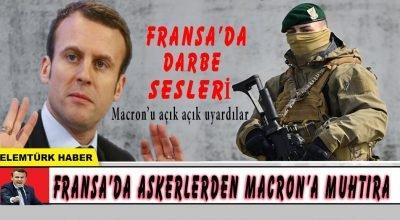 Fransa'da emekli askerlerden Macron'a ikinci uyarı