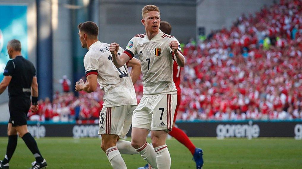 Belçika zorlandığı maçta Danimarka'yı yenmeyi başardı