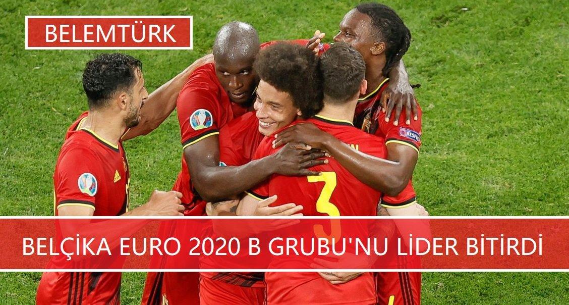 Belçika EURO 2020 B Grubu'nda Fillandiya'yı  yenerek 3'te 3 yaptı.