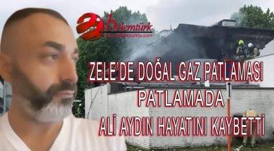 Belçika'nın Flaman bölgesi Zele'de  şiddetli doğal gaz  patlamasında Türk vatandaşı Ali Aydın hayatını kaybetti.