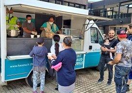 Belçika'daki afetzedelere  Hasene Derneği'nden yardım eli