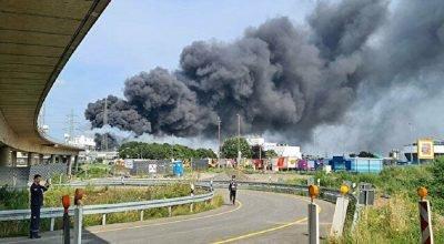 Almanya'da atık yakma tesisinde patlama