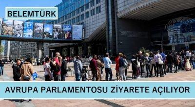 Avrupa Parlamentosu ziyarete açılıyor!