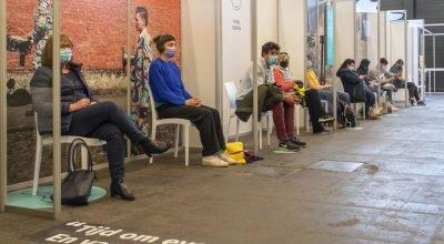 Belçika'nın Gent  Flanders Expo aşı merkezi kapanıyor!