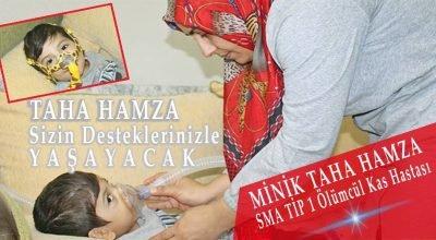 Belçika'da SMA hastası minik Taha Hamza için yardım kampanyası başlatıldı.