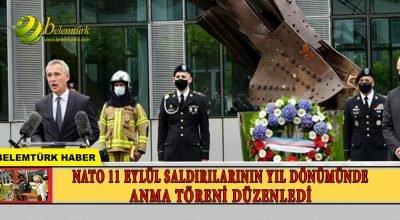 NATO'da 11 Eylül saldırılarının yıl dönümünde anma töreni düzenlendi