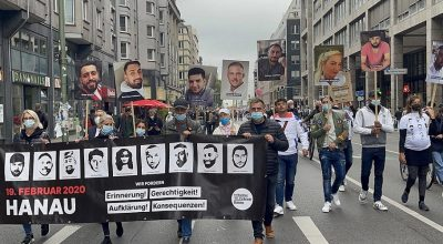 Almanya'da ırkçılık karşıtı gösteri