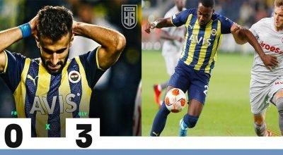 Fenerbahçe Kadıköy'de Yunanistan'ın Olympiakos takımına 3-0 yenildi
