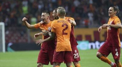 Galatasaray Lazio'yu devirdi