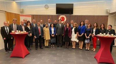 T.C. Brüksel Başkonsolosluğu yeni Eğitim Öğretim yılı nedeniyle Türkçe ve Türk Kültürü Öğretmenleriyle buluştu.
