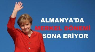 Almanya'da Merkel dönemi sona eriyor