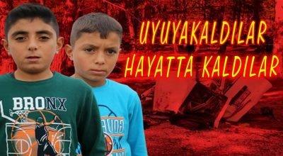 Afyonkarahisar'da 5 öğrencinin öldüğü kazada uyuyakalan 2 kardeş kazadan kurtuldu.