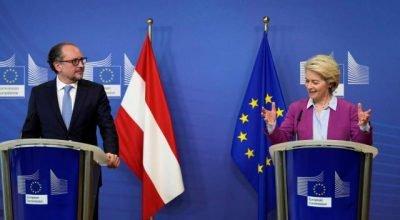 Avusturya'nın yeni Başbakanı ilk yurt dışı ziyaretini Brüksel'e yaptı