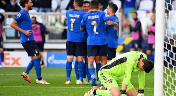 Belçika UEFA Uluslar Ligi üçüncülük maçında İtalya'ya yenildi
