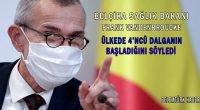 """Belçika Sağlık Bakanı Frank Vandenbroucke, ülkenin 4'üncü dalgaya girdiğini"""" söyledi."""