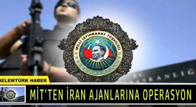 MİT İranlı eski bir askeri ülkelerine kaçırmak isteyen 2'si İran ajanı 8 kişiyi suç üstü yakaladı.