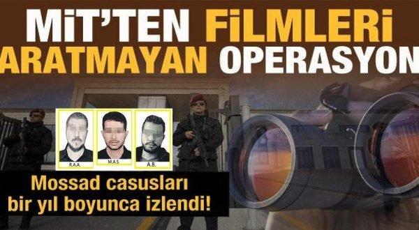MİT'ten Mossad ajanlarına operasyon: 15 tutuklama
