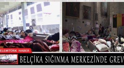 Belçika'da sığınma merkezinde imkan kısıtlılığı nedeniyle grev yapılıyor