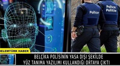 """Belçika polisinin yasa dışı şekilde """"yüz tanıma yazılımı"""" kullandığı ortaya çıktı."""
